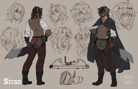 Sivan Character Sheet by BloodnSpice