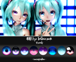 MMD Eye texture pack - 10 points by Relomi