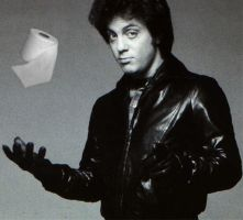 Billy Joel Toilet Paper by ActionHeroMedia