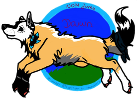 Dawn Badge .:gift:. by RedSoulWolf13