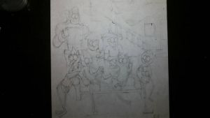 Irregular Show (WIP Midpoint) by SketchedJDII