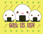 Onigiri Family: Eat us up by Pochina