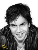 Ian Somerhalder by sahfofa