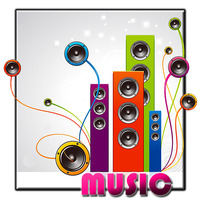 Music icon by pavelber