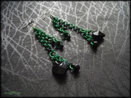 Love for Green and Black by Marjolijn-Ashara