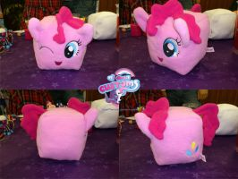 Cube Pinkie Pie by angel99percent
