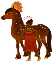 BB Staff- Eshe Willow by BiscottiStables