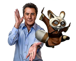 Dustin Hoffman-Kung Fu by donvito62