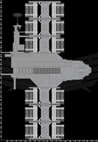 Alliance Cargo Ship WIP 1 by Jon-Michael-May