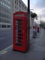 English Phone booth by JackHayden