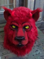 Hell cat mask by LilleahWest