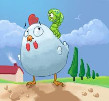 Poupoule by Cyssoo