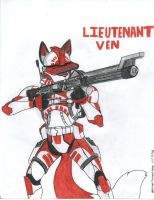Lupe trooper- Lieutenant Ven by WMDiscovery93