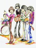 The Rolling Stones by kique-ass