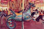 carousel in the phoenix zoo by AWildRose