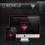 Wolfgun CHRONICLE Desktop Background by Bonvallet