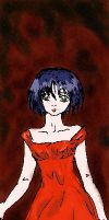 Lady in red by Kira666Y