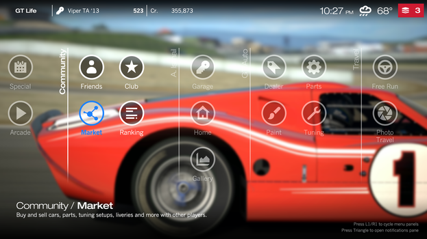GT New UI by jetsetsonic