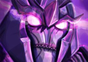 With the Power of Dark Energon by KirstyTron