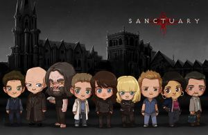 [Commission] Sanctuary Cast by JoannaJohnen