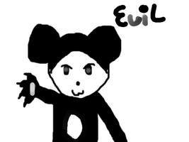Free Evil Panda Icon by TheRainbowSparkle