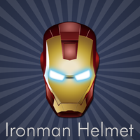 Ironman Helmet by cruzerDESIGN
