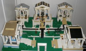 My Lego temple complex by Anthony-Callaghan