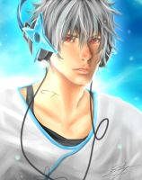 Gintoki Sakata: Enhanced by chi-tokiyo