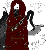 Hatched mystery annon man (Crowe Corpse  Man) by Dysfunctional-H0rr0r