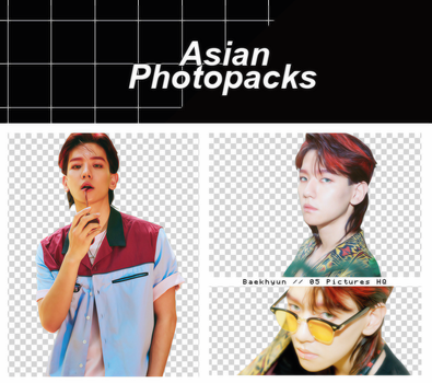 Pack Png 085 //  Baekhyun (EXO) (THE WAR). by xAsianPhotopacks