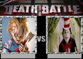 Chucky Vs The Cat In The Hat by Normanjokerwise