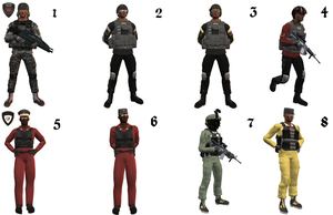 ICS Combat Uniforms by The-Port-of-Riches