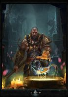 Monk Diablo III fan art by maker-hs