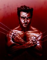 Hugh Wolverine marker rev by cehnot