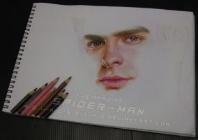 Peter Parker - The Amazing Spider-Man WIP 4 by A-D-I--N-U-G-R-O-H-O