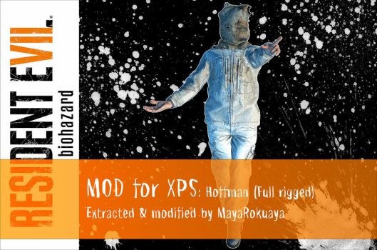 MOD for XPS: Hoffman (Full rigged) by MayaRokuaya