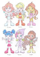 Winx Club Girls by TheAwesomeWorld