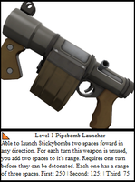 TF2 Trading Card: Stickybomb Lch. by UltimaWeapon13