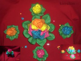 .: Discovering origami flor:. by kiri-chan1990