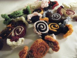 Little Crochet Candies Decor by ChibiSayuriEtsy