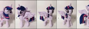Plushie: Princess Twilight - My Little Pony: FiM by Serenity-Sama