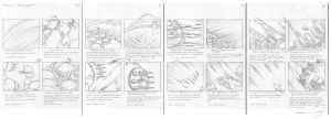 Battle SectorA Storyboards I by mavartworx