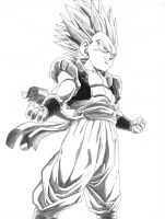 Super Gotenks ssj2 by bejita81