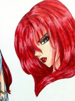 Red Hair Girl 2 (creation) by Pink--Mist