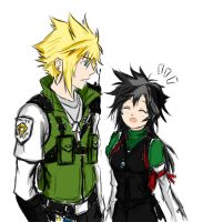 Officer Cloud Strife AND ALSO by Maniac-KageSenshi