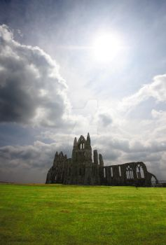Beautiful Whitby Abbey by lobstergirlfrommars