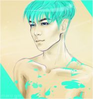 T.O.P. - MENTHOL[speed-art] by MaruGin