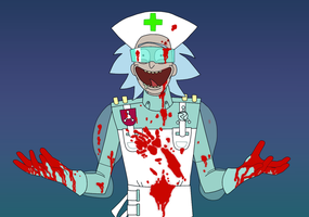 Surgeon Rick WIP by ForeverSonu