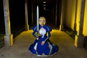 Saber- Print available 5 by Cosmic-Empress