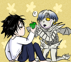 shinigami love apples by nutburgers-official